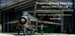 lightning jet open day